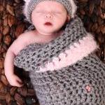 Newborn Kitty Cocoon set wi..