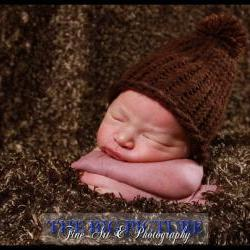 SALE Little Lumberjack baby boy hat